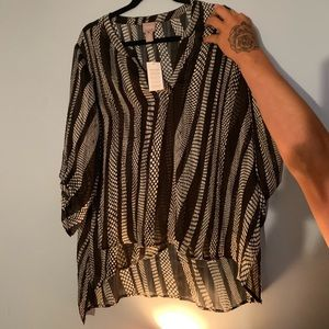 Chicos blouse size 2x new with tags